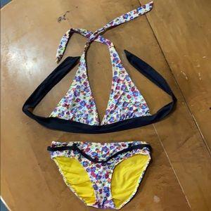 Seven 7 Bikini floral print size Medium